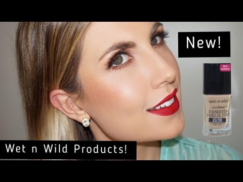 NEW Wet n Wild Makeup Review & Demo First Impressions
