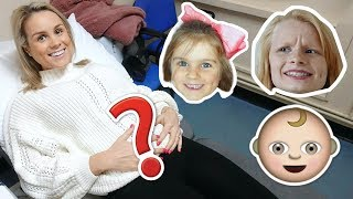 KiDS REACTiONS TO FiRST BABY SCAN!! 👶