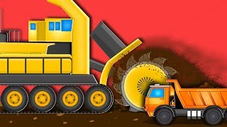 Bucket Wheel | Formation and Uses Compilation | Big Riggs Videos For Kids