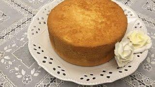不失敗的「原味戚風蛋糕」實作~ Vanilla Chiffon Cake