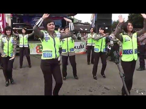 POLWAN CANTIK Goyang Gemu famire - Satlantas Rejang Lebong