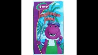 Opening & Closing To Barney's Imagination Island 2004 VHS (It's The Real Deal!)
