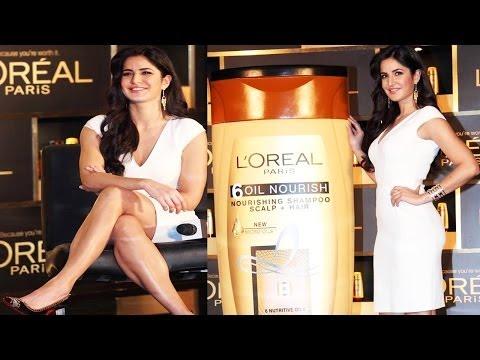 Katrina Kaif Looking Hot & Sexy @ Loreal Paris New Hair Launch