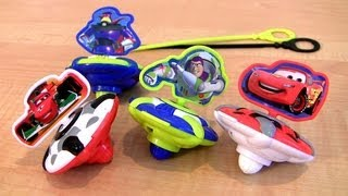 Cars 2 Beyblade Toy Story 3 Spinning Battling Toys Lightning McQueen Disney Pixar car-toys