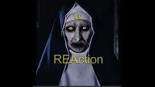 The Conjuring 2 Valak Painting scene (REAction)