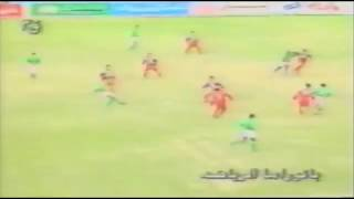 هدف وليد صلاح - مباراة الاهلى و بلدية المحلة 2-0 الدوري المصري الممتاز 1995/1994