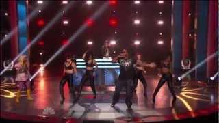 David Guetta ft  Nicki Minaj ft  Flo Rida - Where Dem Girls At Live At American Idol