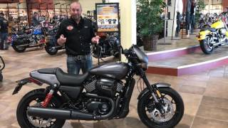 Exclusive Look At Brand New 2017 H-D® STREET ROD XG750A Z&M Harley-Davidson