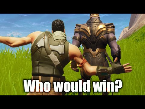Thanos Vs One Defaulty Boi Who would Win