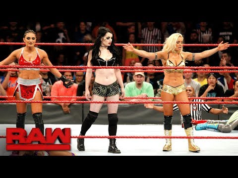 Xxx Mp4 Paige Returns To WWE Alongside Raw Newcomers Mandy Rose And Sonya Deville Raw Nov 20 2017 3gp Sex