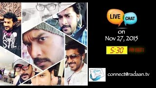 Live Chat With Your Vani Rani Favourite Stars | Suriya (Arun) | Live on 27.11.2015