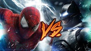 BATMAN VS SPIDERMAN RAP | BATALLA DE HEROES | ZARCORT Y KRONNO