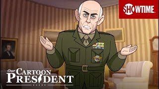 Now It's Your Turn Donald Trump | Our Cartoon President | Stephen Colbert SHOWTIME Series