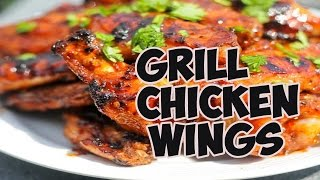 grill chicken wings | How to Grill Chicken Wings-Ansari Kitchen