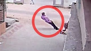CCTV : Man Dies Of Heart Attack While Talking to His Family Members In Ahmedabad