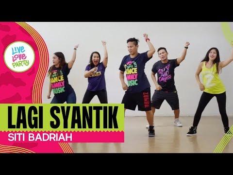 Download Lagi Syantik by Siti Badriah | Live Love Party | Zumba | Dance Fitness free