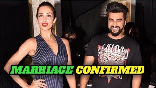 Bollywood News l Arjun Kapoor and Malaika Arora Marriage confirmed