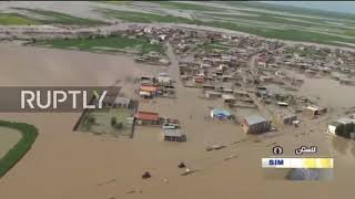 Iran: Floods cause heavy damage to northern regions along Caspian Sea