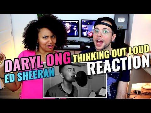 Daryl Ong - Thinking Out Loud | Ed Sheeran | REACTION