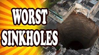 Top 10 Worst Sinkholes — TopTenzNet