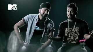 The Story Behind Swag Mera Desi  Panasonic Mobile Mtv Spoken Word  Raftaar  Manj Musik