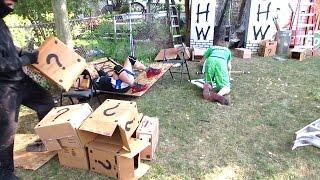 Mystery Box Match - Nikky Chance (c) VS Matt Rage VS Robb Banks - CHW Backyard Wrestling