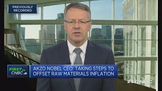 AkzoNobel CEO: Seeing some consumer