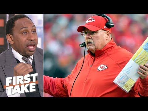 Xxx Mp4 Andy Reid Under Most Pressure On 2018 NFL Championship Sunday – Stephen A First Take 3gp Sex