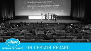PALMARÈS -un certain regard- (en) Cannes 2015