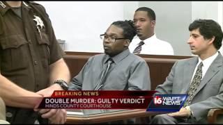 Jury returns guilty verdict in double-murder trial
