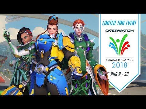 Overwatch Seasonal Event | Overwatch Summer Games 2018