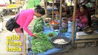 Local market in Dimapur, Nagaland