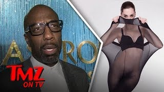 Plus Sized Tights Advertised On Normal Sized Models?!   TMZ TV