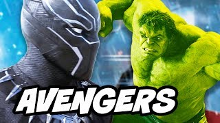 Avengers Infinity War Hulk and Black Panther Scene Explained