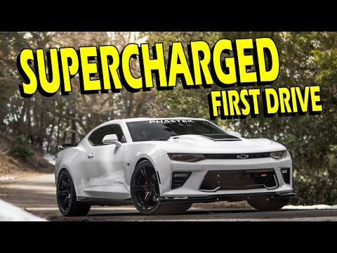 ProCharger First Drive (Cam, Headers, Exhaust, P-1SC-1) 2016/2017 Camaro SS - Drive with Lethal #32