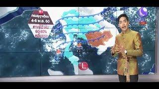 ลมฟ้าอากาศ อุตุ เตือน 4-6 พ.ย. ภาคใต้ ฝน60-80% คลื่นแรง