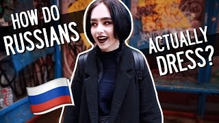 How do Russians ACTUALLY dress? | Moscow Street Style