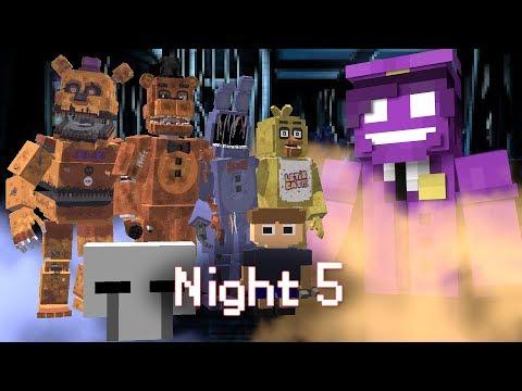 Xxx Mp4 MINE Nights At Freddy S ORIGINS Night 5 Five Nights At Freddy S Minecraft Roleplay 3gp Sex