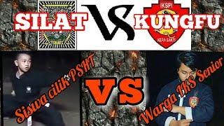 Duel.! Siswa Silat PSHT vs Senior Kungfu IKS PI