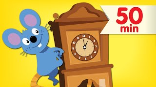 Hickory Dickory...Crash! + More | Our Top Silly Songs for Kids