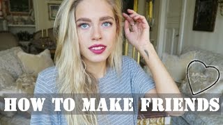 How to Make Friends (when traveling/moving abroad) | Cornelia