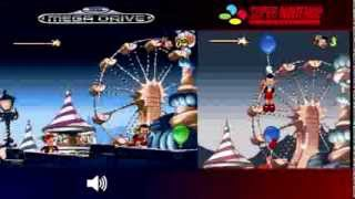 Pinocchio | Mega Drive/Genesis & SNES - Comparison/ Dual Longplay