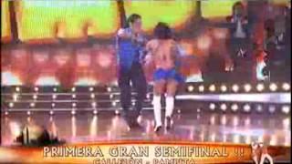 Showmatch 2008 - La cumbia de María Fernanda Callejón