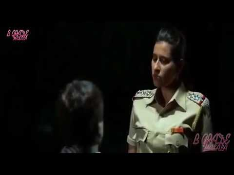 HOT SEXY -  Hot Sexy Busty Indian Policegirl in Bra capture villian but got striped by him on gunpo