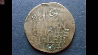 03.12. - Zeitgenössische Fälschung - Preußen 12 einen Thaler 1764 B