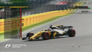 2017 F1 Esports Grand Final: Race 2 Highlights