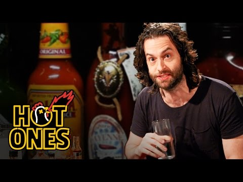 Chris D Elia Turns Into DJ Khaled While Eating Spicy Wings Hot Ones