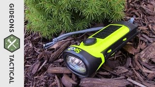 Solar/Crank Powered Flashlight by Secur Good For Your Emergency Kit?