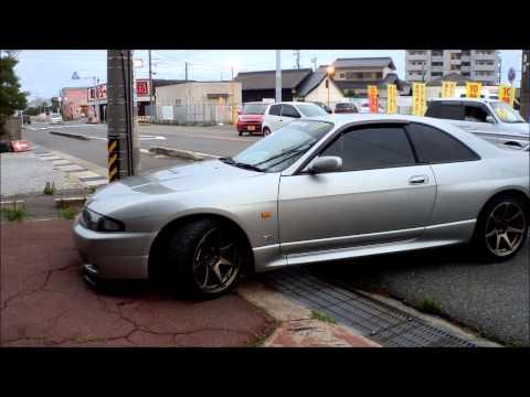 450馬力!R33 スカイライン GT R ドライブ SKYLINE バックタービン