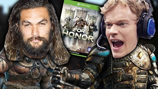 "People Fight Game Of Thrones Actors in ""For Honor"""